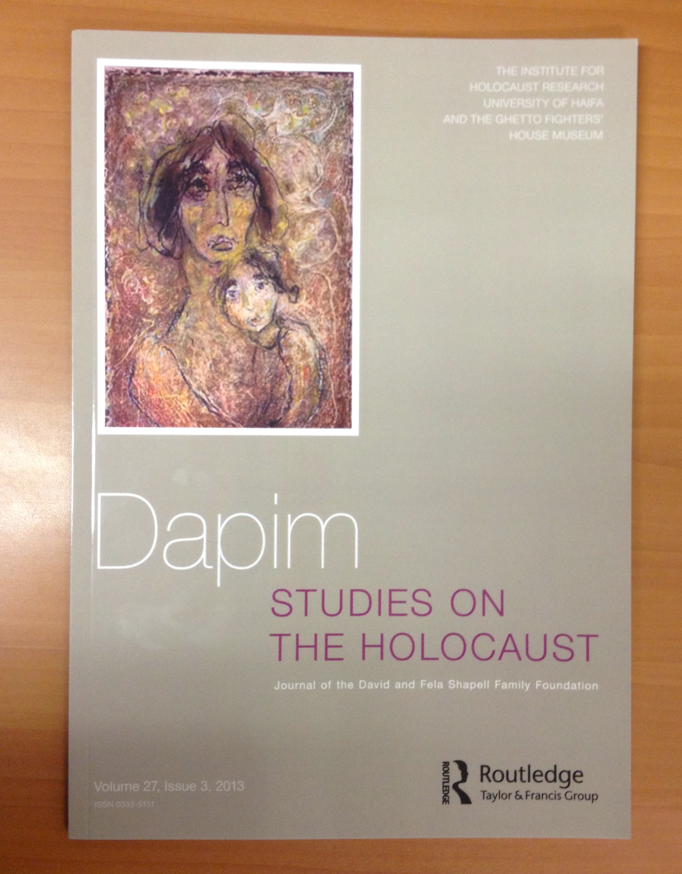 dapim studies on the holocaust research forum the anthropology   3097