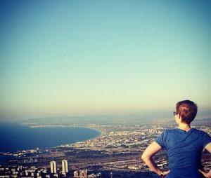 Leah Hansen in Haifa