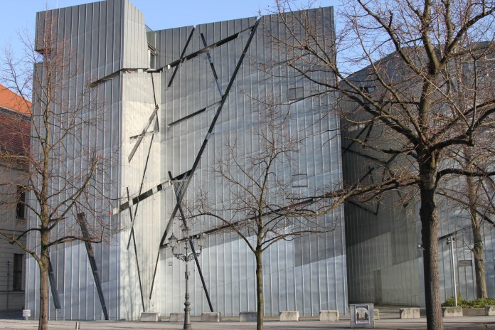 Jewish Museum Berlin, designed by architect Daniel Libeskind