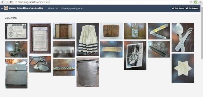 Milev Holocaust Collection Online