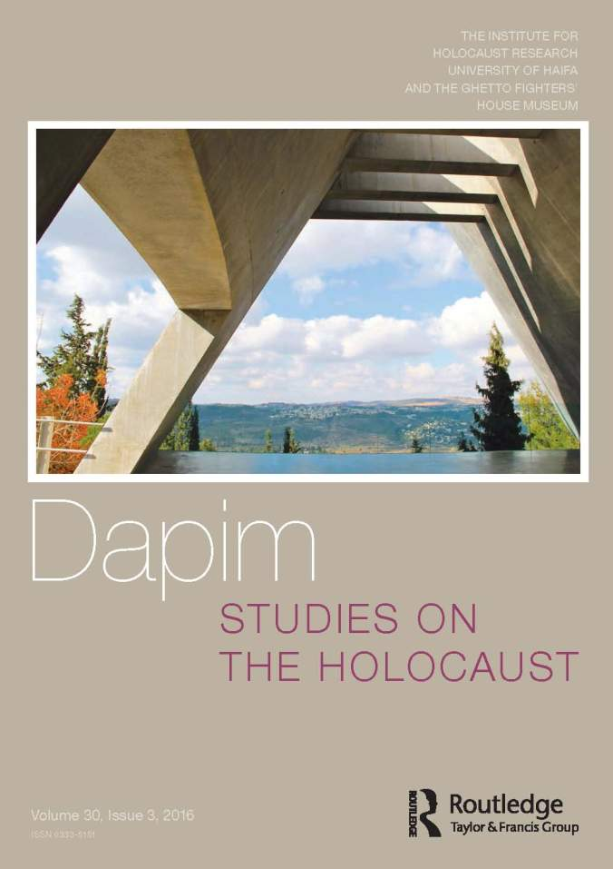 How To Write A Philosophy Essay We Are Excited To Share Our Most Recent Issue With You A Special Issue On  New Trends In Museums And Memorials The Essays Explore The Theme Of  Holocaust  Illegal Immigration Essay also Barn Burning Essay New Issue Of Dapim  Studies On The Holocaust  Holocaust Studies In  Sample Rogerian Argument Essay