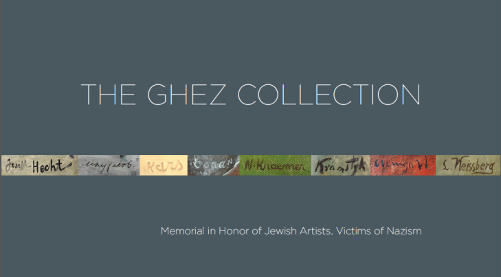Ghez Collection Catalogue